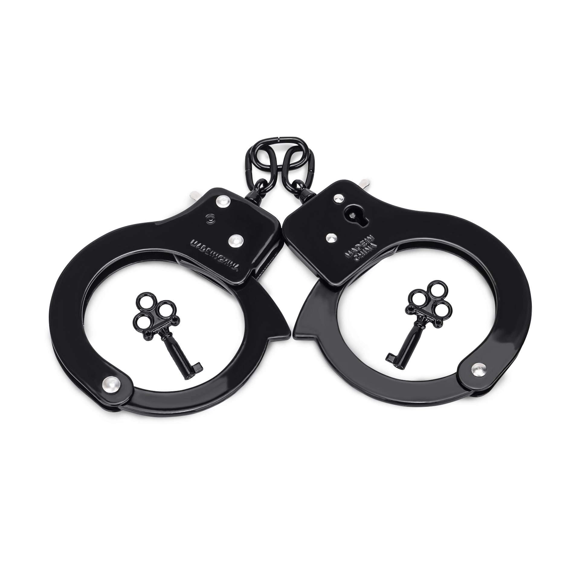 Hitinight Metal Handcuffs With Key Handcuffs