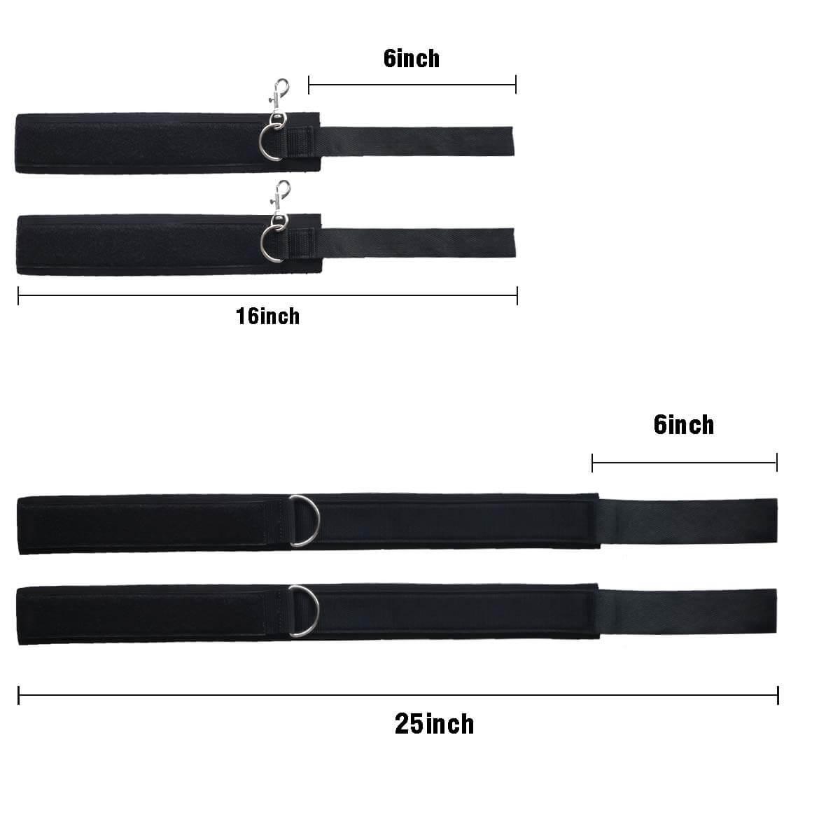 Hitinight Wrist & Thigh Restraints Cuffs